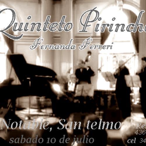 Quinteto Pirincho Dirigido por Jorge Dragone y Fernanda Ferreri