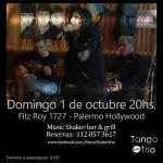 Tango en Music Shaker bar & grill Palermo