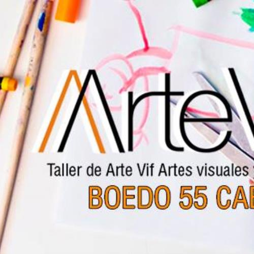 Taller de arte, dibujo, pintura, para niños