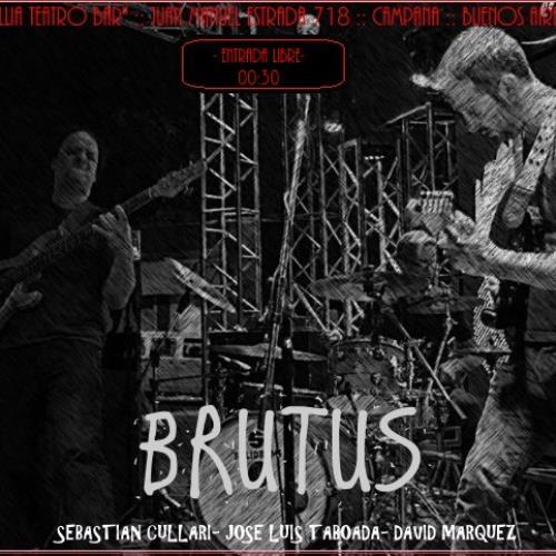 El power trio de Cullari llega con el #BrutusTour a CAMPANA
