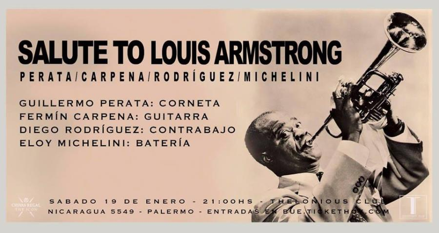 Salute to Louis Armstrong!