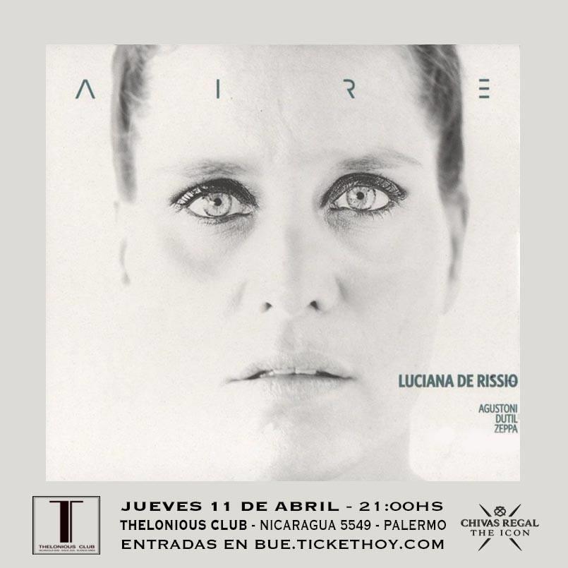 Luciana De Rissio  presenta AIRE