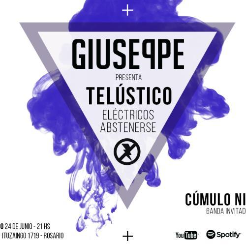 """GIUSEPPE presenta """"Telústico, eléctricos abstenerse"""""""