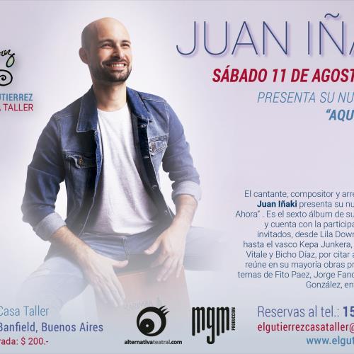 Juan Iñaki en el Gutierrez