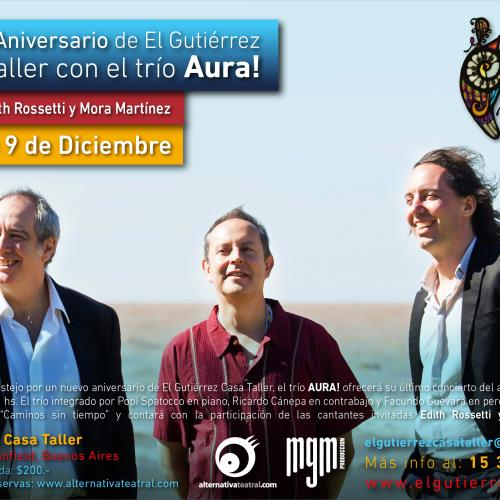Trio Aura en El Gutierrez
