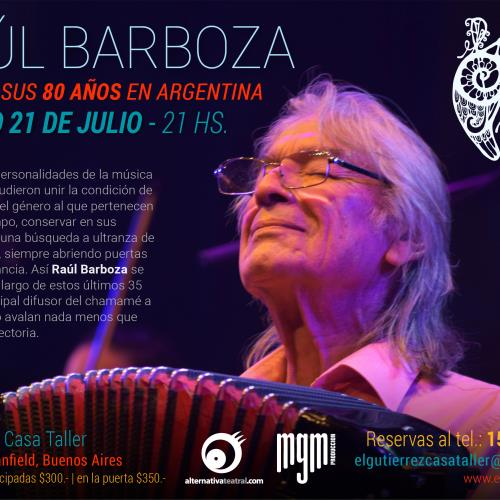 Raul Barboza en El Gutierrez Casa Taller