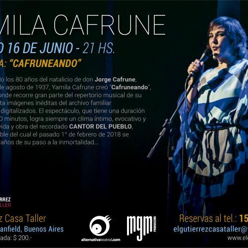 Yamila Cafrune en El Gutierrez