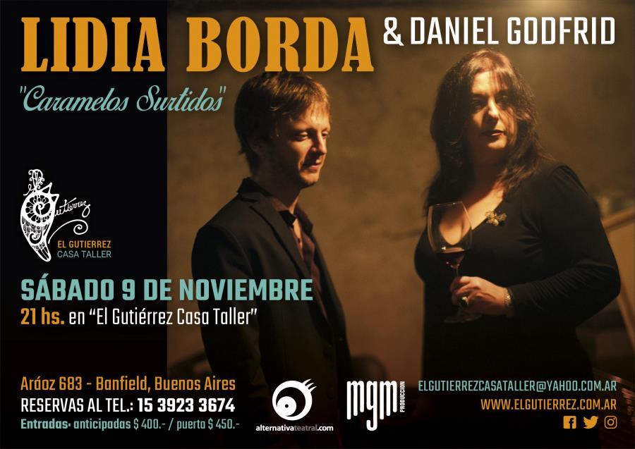 Lidia Borda y Daniel Godfrid
