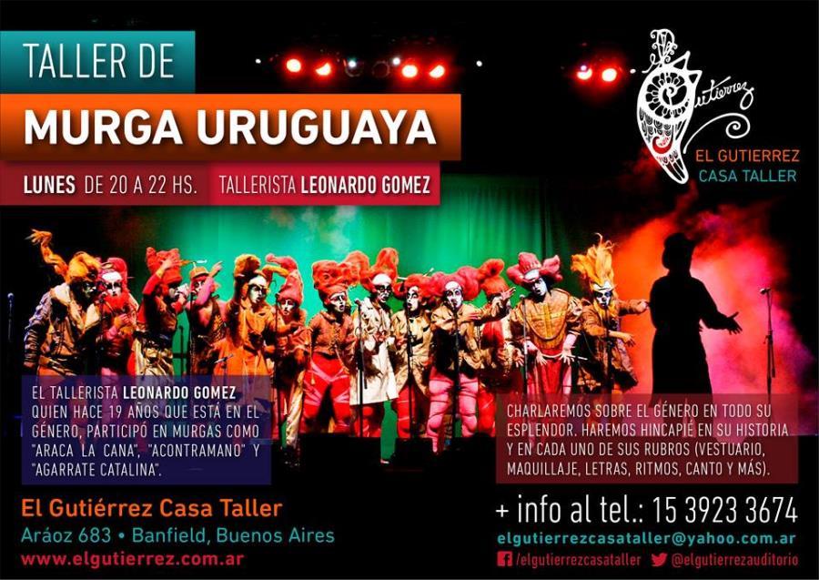 TALLER DE MURGA URUGUAYA