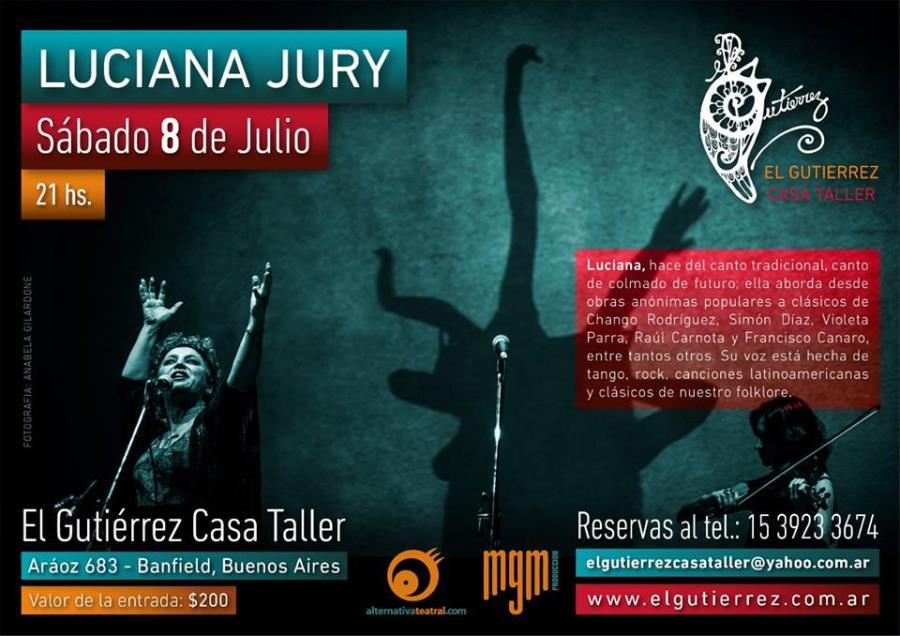 Luciana Jury en El Gutierrez Casa Taller