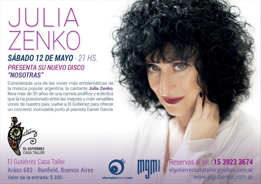Julia Zenko en El Gutierrez Casa Taller