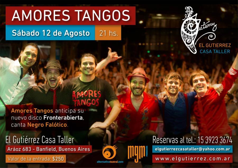 AMORES TANGOS EN EL GUTIERREZ CASA TALLER