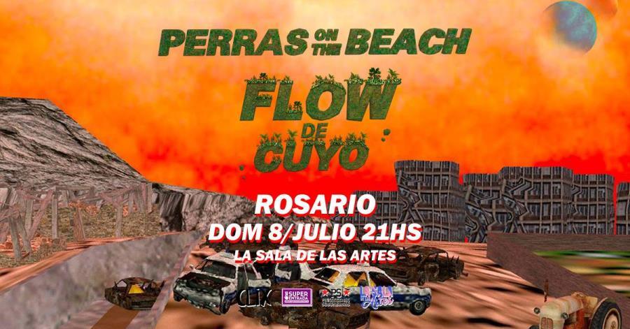 PERRAS ON THE BEACH y LAS SOMBRAS presentan nuevos discos en Rosario