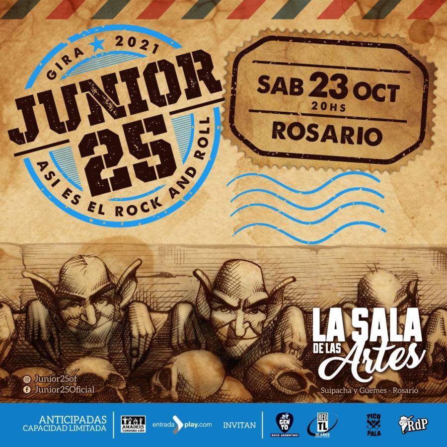¡Junior 25 en Rosario!