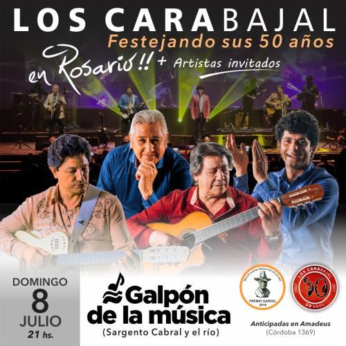 LOS CARABAJAL festejan sus 50 AÑOS en ROSARIO!