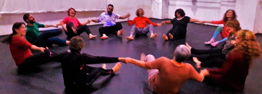 Encuentro Intensivo de Movimiento y Expresion (gimnasia Ritmica expresiva:sistema Milderman)