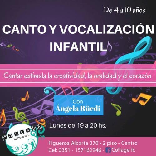 Canto y Vocalización Infantil