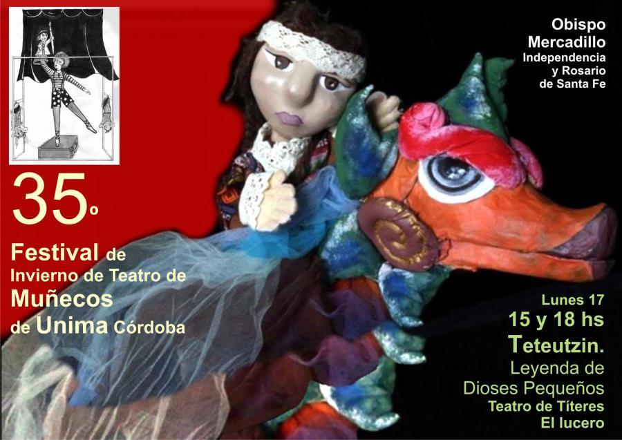 TETEUTZIN - 35 festival de teatro de muñecos de unima córdoba