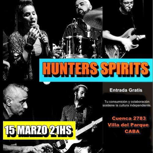 Hunter's Spirits Soul, Funk, R&B and Jazz