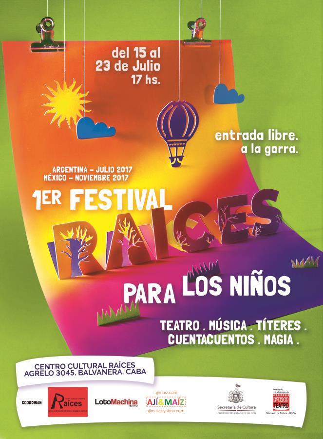 1er Festival Raíces para los Niños