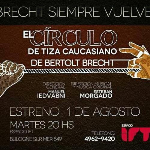 El Círculo de Tiza Caucasiano de B. Brecht
