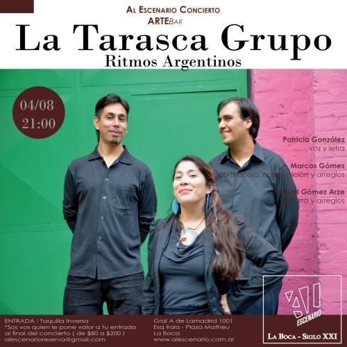La Tarasca Grupo en Cafe Concert Al Escenario