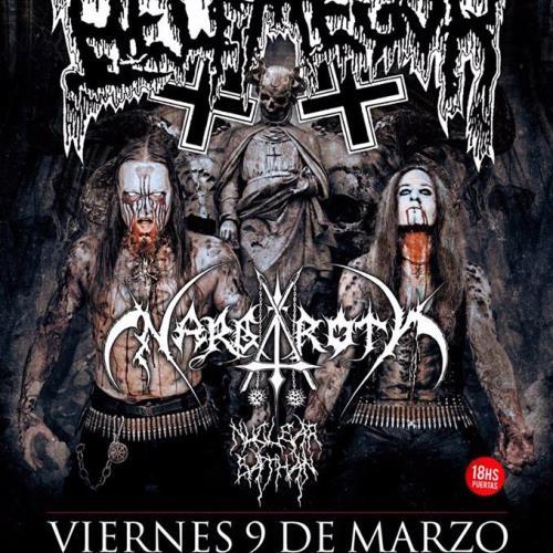 Belphegor y Nargaroth por primera vez juntos en Argentina