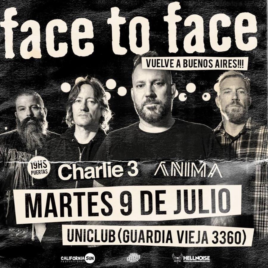 Face To Face en Argentina