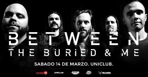Between The Buried & Me por primera vez en Argentina
