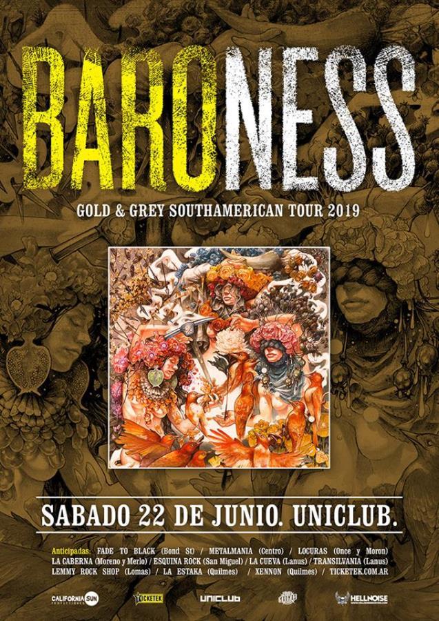 Baroness por primera vez en Argentina