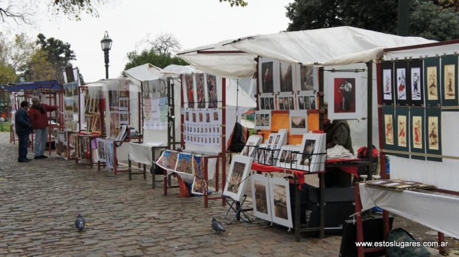 Feria de Artesanos en Plaza Francia - Recoleta - BS AS