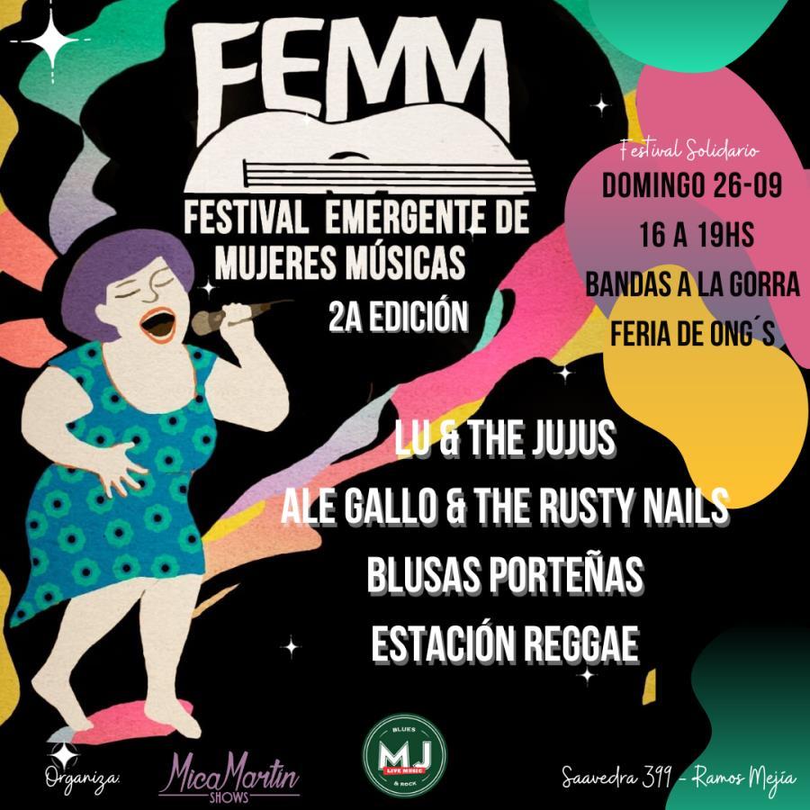 FEMM - Festival Emergente de Mujeres Músicas