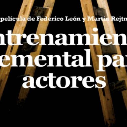 """Proyección """"Entrenamiento elemental para actores"""" - Ciclo de Cine Bellas Artes"""