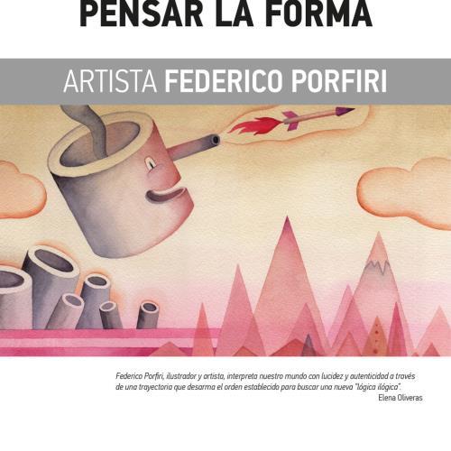"""Muestra """"Pensar la forma"""" de Federico Porfiri"""