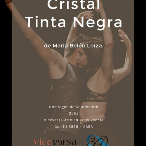 Cristal + Tinta Negra