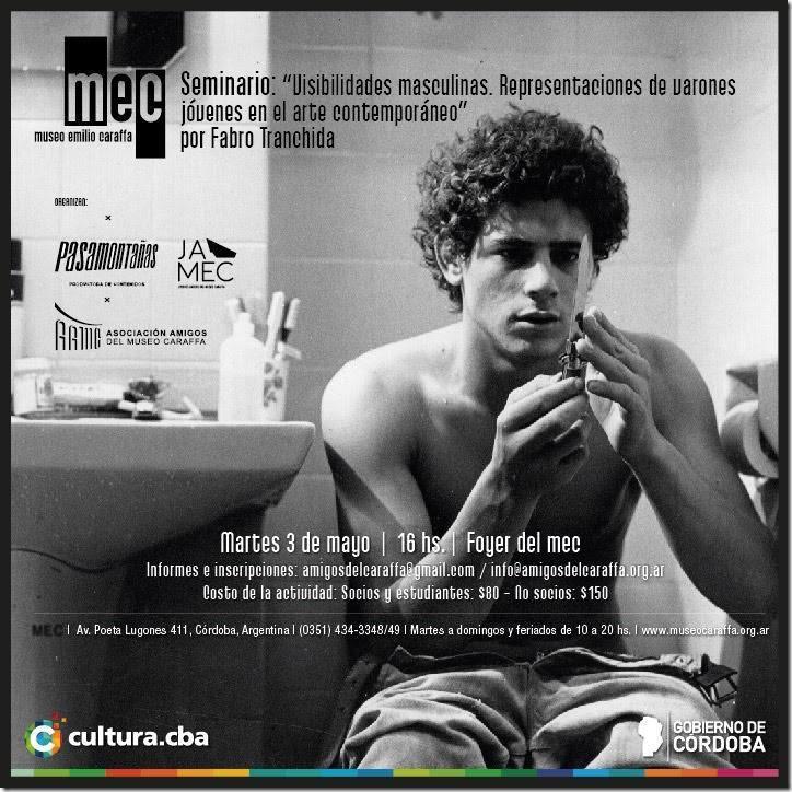Seminario: Visibilidades masculinas. Representaciones de varones jóvenes en el arte contemporáneo