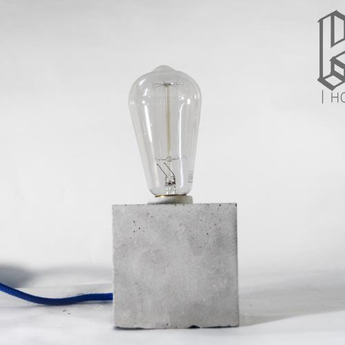 HOLuZ Cubo | Lámpara de hormigón