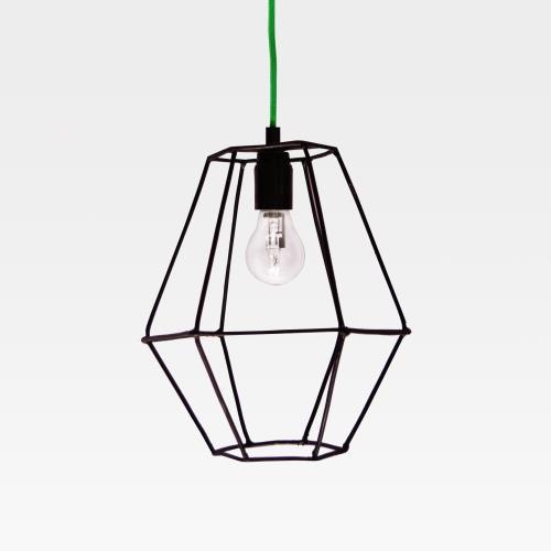 HOLUZ Hexagonal | Lámpara de hierro reciclado