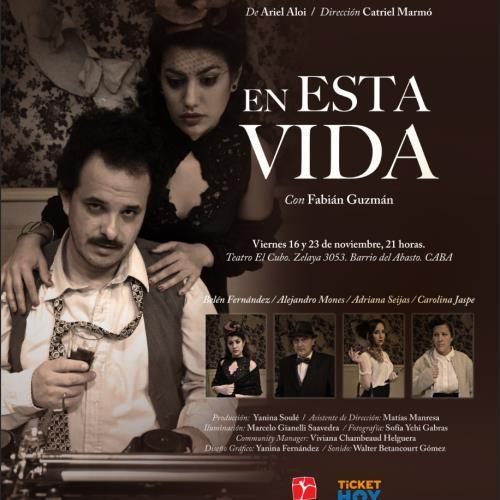 """Estreno: """"En esta vida"""" en el Teatro El Cubo"""