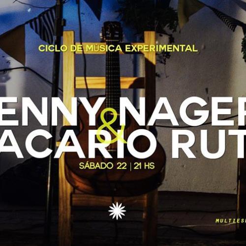 Ciclo de Música Experimental - Jenny Nager & Macario Ruts