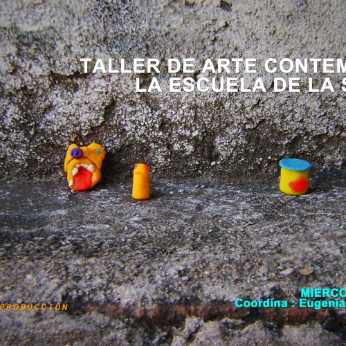"""Taller de arte contemporáneo - """" La escuela de la Sospecha"""""""
