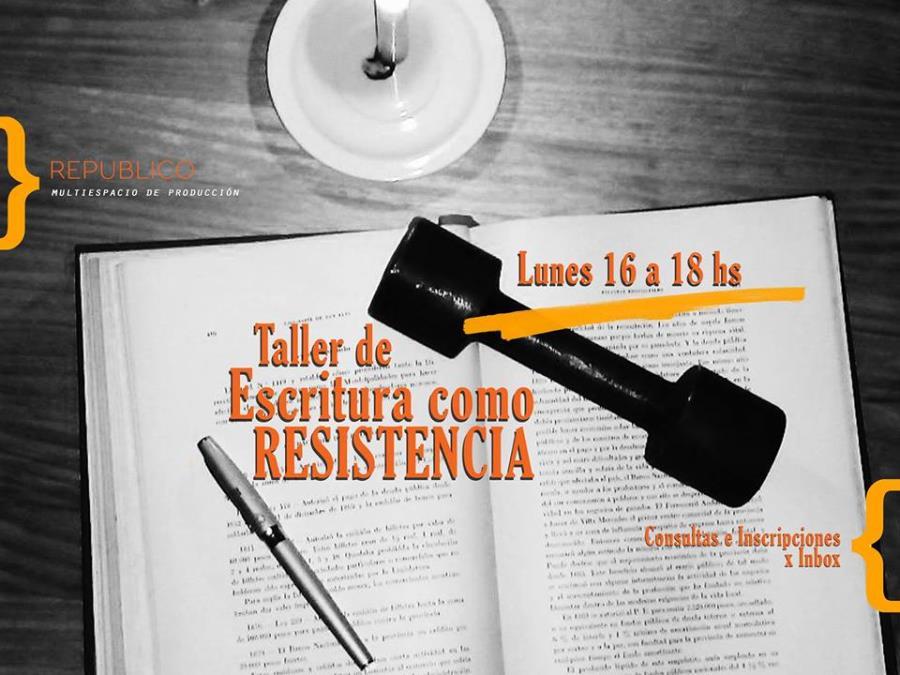 Taller de Escritura como Resistencia