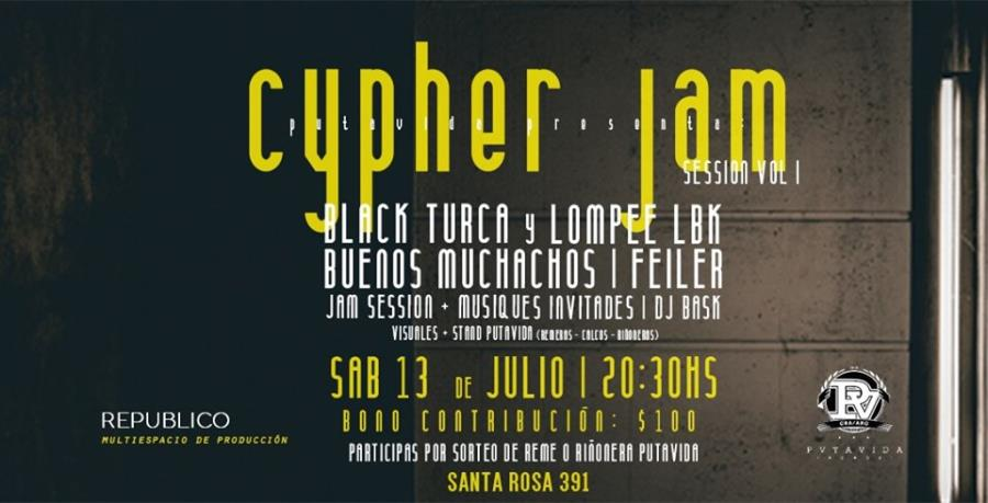 Cypher Jam, Session Vol I // PutaVidaRecords