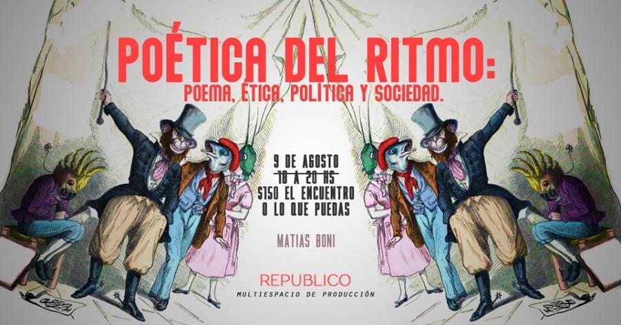 Poética Del Ritmo: Poema,ética, política y sociedad