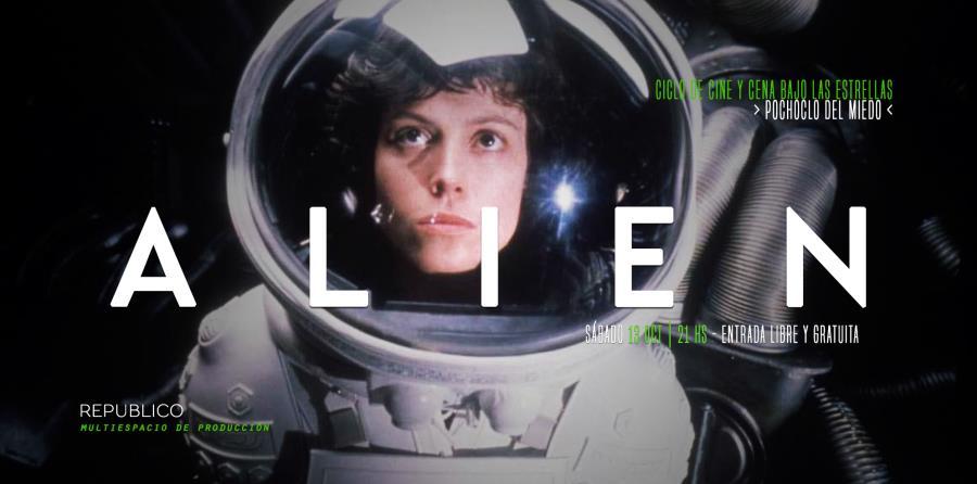 Ciclo Pochoclo del Miedo -Alien (1979)