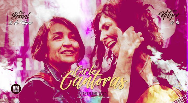 Ciclo Cantoras - Pao Bernal & Jenny Nager