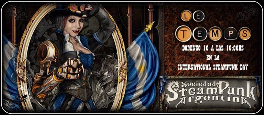 Le Temps en el International Steampunk Day