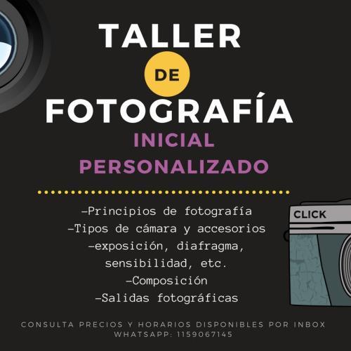 Taller Inicial de Fotografía