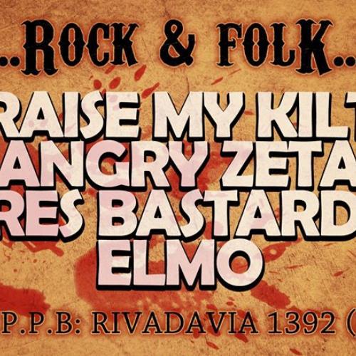 Raise My Kilt en el Rock y Folk Fest