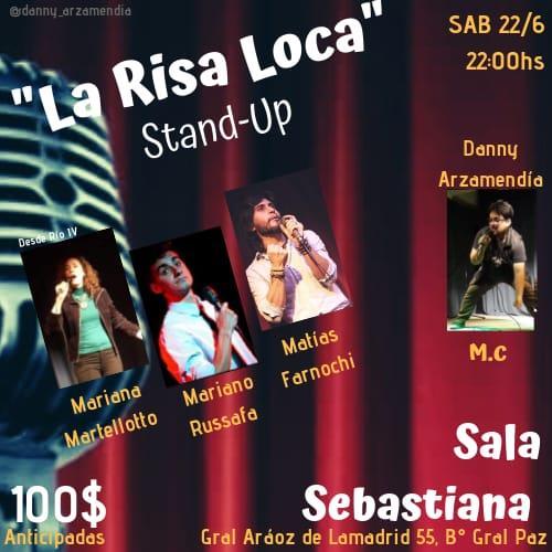 Ciclo de Stand Up: La Risa Loca